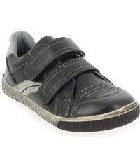Chaussures basses Enfant garcon Noel en Cuir Noir