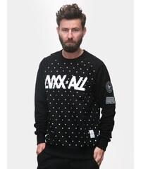Luxx All Basic Dots Crewneck Black