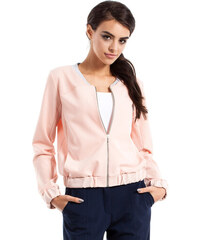 Světle růžové bunda MOE 230