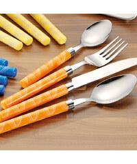 Lesara 27-teiliges Esmeyer Besteck-Set Lina - Orange