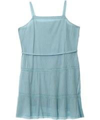 Daxon Kleid mit fließendem Schnitt - türkis