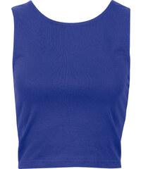 RAINBOW Top bleu sans manches femme - bonprix