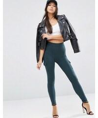 ASOS - Pantalon skinny stretch avec poches plaquées - Vert