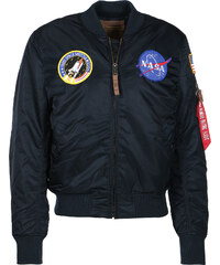 Alpha Industries Ma-1 Vf Nasa Bomberjacke rep blue
