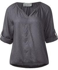 Cecil - Blouse raglan à carreaux - dark silver