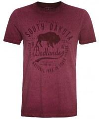 COOL CODE Herren T-Shirt rot aus Baumwolle