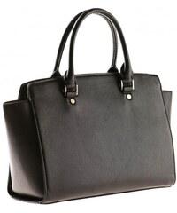 Michèle Boyard Damen Handtasche schwarz aus Kunstleder