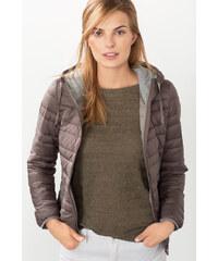 Esprit Lehká prošívaná bunda s kapucí
