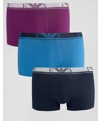 Emporio Armani - Lot de 3 boxers - Multi