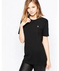 Le Coq Sportif - Dacari - T-shirt boyfriend - Noir