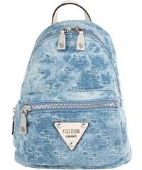 Guess Sacs à Bandoulière, Leeza Small Backpack Blue Denim en bleu, blanc