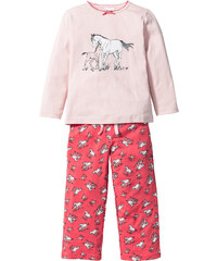 bpc bonprix collection Pyjama (Ens. 2 pces.), T. 92/98-152/158 rose lingerie - bonprix