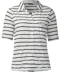 Street One Polo-Crashshirt Fedra - weiß, Damen