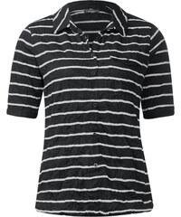 Street One Polo-Crashshirt Fedra - Black, Damen