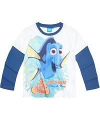 Disney Findet Dorie Langarmshirt weiß in Größe 98 für Jungen aus Vorderseite: 100% Polyester 100% Baumwolle