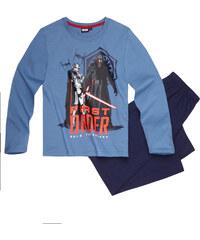 Star Wars-The Clone Wars Pyjama blau in Größe 116 für Jungen aus 100% Baumwolle