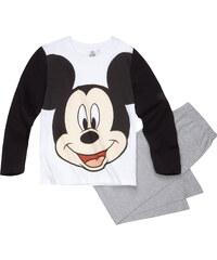 Disney Mickey Pyjama grau in Größe 98 für Jungen aus 100% Baumwolle Grau: 60% Baumwolle 40% Polyester