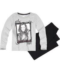 Disney Descendants Pyjama schwarz in Größe 140 für Mädchen aus 100% Baumwolle Grau: 60% Baumwolle 40% Polyester