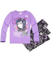 Disney Descendants Pyjama schwarz in Größe 140 für Mädchen aus 100% Baumwolle