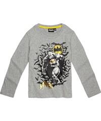 Batman Langarmshirt grau in Größe 104 für Jungen aus 60 % Baumwolle 40 % Polyester
