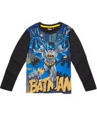 Batman Langarmshirt grau in Größe 104 für Jungen aus Vorderseite: 100% Polyester 60 % Baumwolle 40 % Polyester