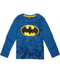 Batman Langarmshirt blau in Größe 104 für Jungen aus 100% Baumwolle