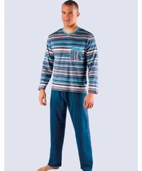 Pánské proužkované pyžamo