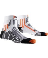X-Socks Run Speed Two Laufsocken white/black