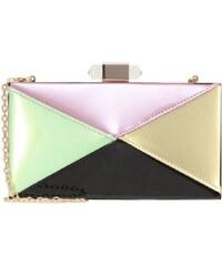 Glamorous Clutch green/pink/diamond