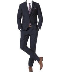 BRUNO BANANI Anzug mit Krawatte und Einstecktuch Set 4 tlg.