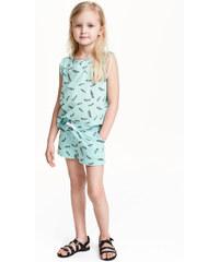 H&M Vzorované šortky