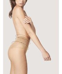 Dámské punčocháče bez nohaviček FIORE, Bikini Fit 20 DEN 2 LIGHT NATURAL Body Care 20 DEN