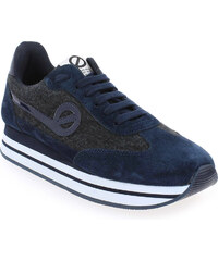 Baskets Femme No Name en Cuir velours Bleu