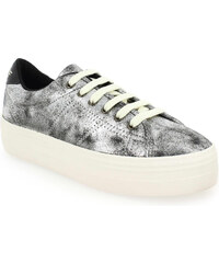 Baskets Femme No Name en Cuir Gris