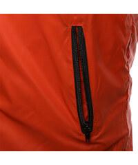 Re-Verse Windjacke im Farbblock-Design - Orange - S