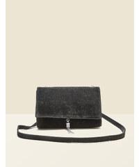 sac pochette suédine noir Jennyfer