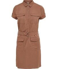 Only Cargo- Kleid mit kurzen Ärmeln