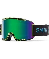 Smith snow brýle SQUAD   Neon Blacklight   Green Sol-X Mirror