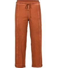 RAINBOW Pantalon sweat effet usé orange femme - bonprix