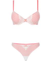 RAINBOW Soutien-gorge avec coques + string (Ens. 2 pces.), Bon. C fuchsia lingerie - bonprix