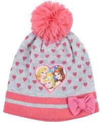 Disney Princess Mütze grau in Größe 52 für Mädchen aus 100% Polyacryl