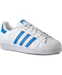 Boty adidas - Superstar S75929 Ftwwht/Rayblu/Rayblu