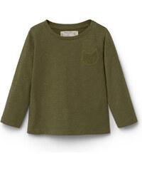 MANGO BABY Besticktes Baumwoll-T-Shirt