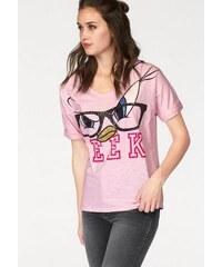 Damen Frogbox Rundhalsshirt FROGBOX rosa 34,36,38,40,42,44
