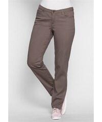 Damen Trend Schmale Stretch-Hose im Five-Pocket-Style SHEEGO TREND braun 21,22,23,24,25,88,92,96,100,104