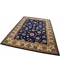 Orient-Teppich Panjin 4 kg/m² handgetuftet reine Schurwolle THEKO blau 1 (B/L: 60x90 cm),10 (Ø 190 cm),2 (B/L: 70x140 cm),3 (B/L: 120x180 cm),4 (B/L: 160x230 cm),6 (B/L: 190x290 cm)