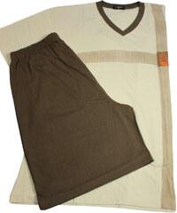 C-Lemon Stefan II. pánské pyžamo XL světle béžová