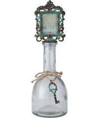 Dekorativní lahev s fotorámečkem Key