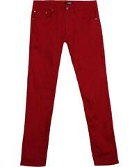 Re-Verse Leichte Slim Fit-Jeans Unifarben - Dunkelrot - W30