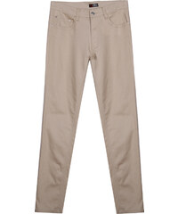 Re-Verse Leichte Slim Fit-Jeans Unifarben - Beige - W31